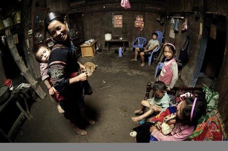 ◆質素で素朴な北ベトナム・ミャンマーの少数民族を写した光景