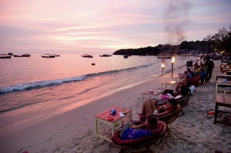 ◆プントッマイ。素朴なカンボジア・シアヌークヴィルの夜