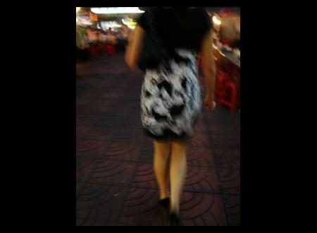 ◆チャイナタウンの楊(ヤン)。観光客を装いながら夜の街に
