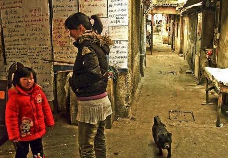 ◆中国人も懐かしいという上海貧民窟のアンダーワールドな光景
