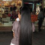 ◆日本で見かけなくなった超長髪の女性は東南アジアにいる