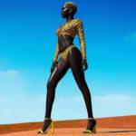 ◆闇の女王ニャキム・ガトウェク。南スーダン出身女性の黒