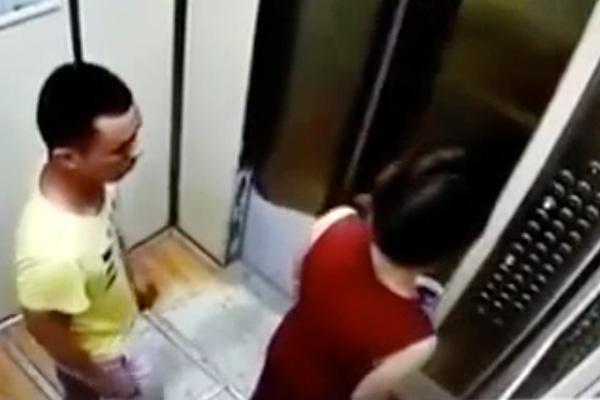◆真夜中。白昼の死角。エレベータ。女性が襲われる光景を動画で見る