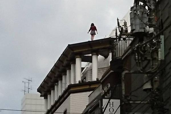 ◆歌舞伎町の自殺の名所。ホストに疲れた女たちはここで飛び降りる