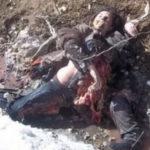 ◆殺されて遺体をも蹂躙されるクルド人女性兵士。これが地獄の光景だ