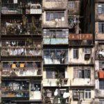 ◆かつて、香港の魔窟と言われた九龍城(クーロン城)の光景