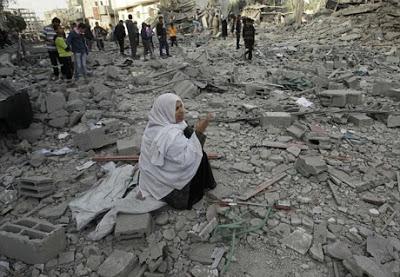◆血まみれのパレスチナ。爆撃で人間が死んでいく光景は永遠に繰り返す