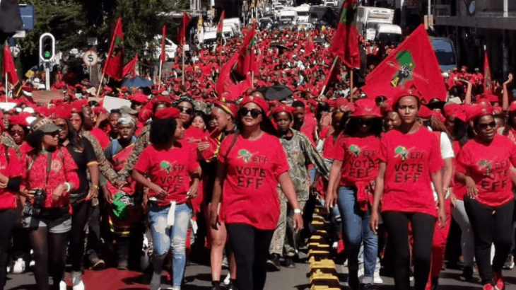 南アフリカで「白人どもの財産を奪え」と過激に叫ぶ組織が台頭する展開になった